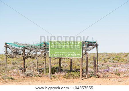 Quaggaskop Nature Reserve