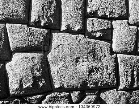 Twelve angle stone in Cusco