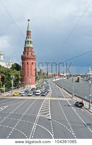 Moscow. Kremlin Embankment