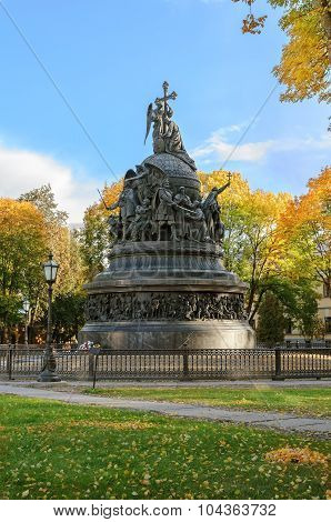 The Monument Millennium Of Russia