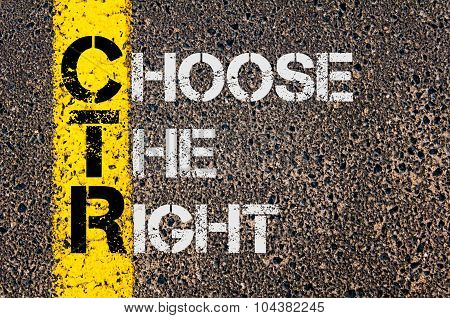 Business Acronym Ctr As Choose The Right