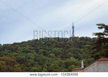 Petrin Lookout Tower - Petrinska rozhledna, Prague