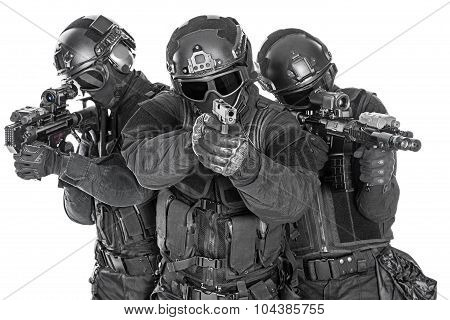 SWAT officers