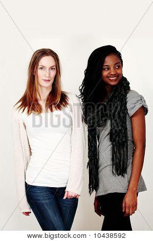 Fashion Models In Stylish Casualwear