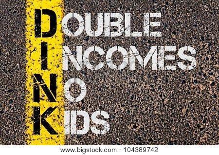 Business Acronym Dink As Double Incomes No Kids