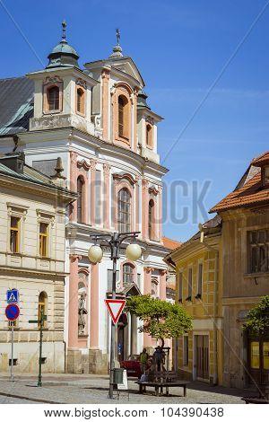 The church of st. John of Nepomuk (Kostel svateho Jana Nepomuckeho)