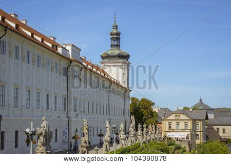 Jesuit College in Kutna Hora, city protected by UNESCO