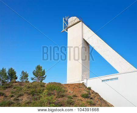 Big Solar Vacuum Telescope. Baikal Astrophysical Observatory. Russia