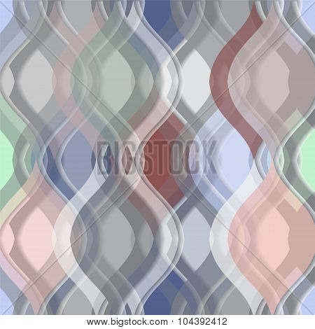 Wave Background, Banner Design-stock Vector