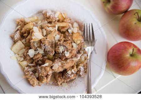 Kaiserschmarrn - German pancakes with