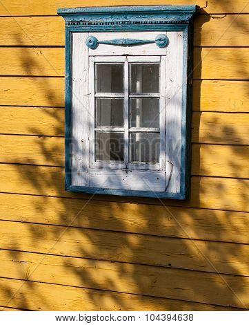 Traditional Lithuanian House Detail - Window