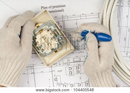 Mans fixing socket