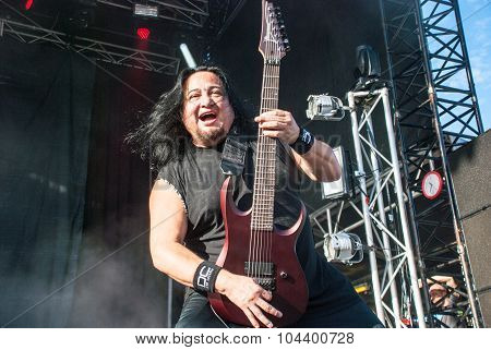 Fear Factory live at Soundwave in Brisbane 2015