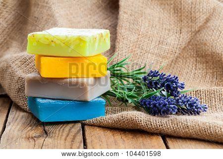 Lavender Handmade Soap Bars