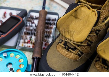 Waterproof Shoes With Fishing Tackles