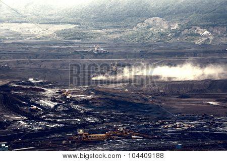Coal mine, Most, Czech Republic
