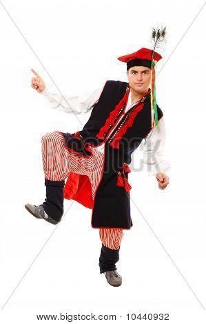 Polish Man In A Traditional Outfit