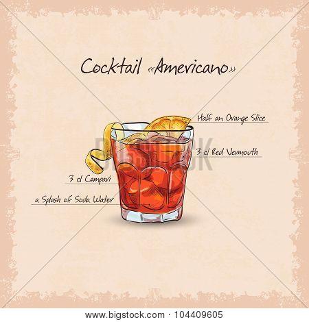 americano scetch