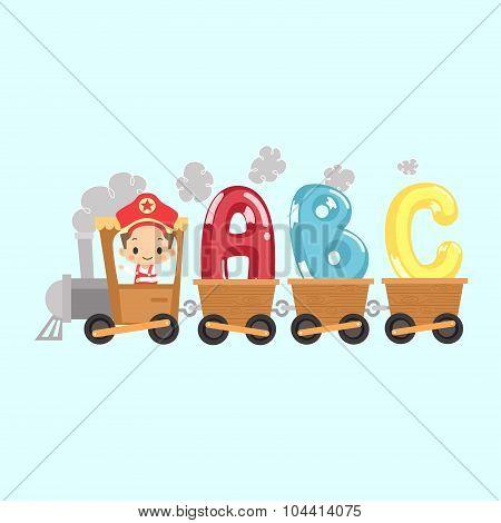 Kid Train with ABC