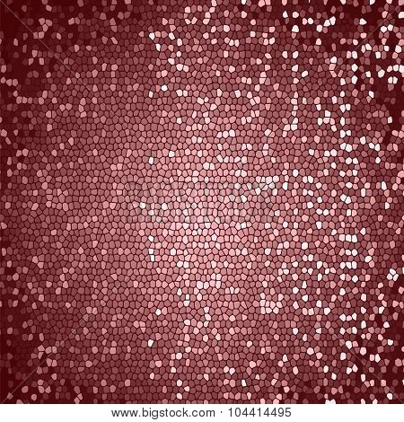 Abstract Pink Mosaic Background