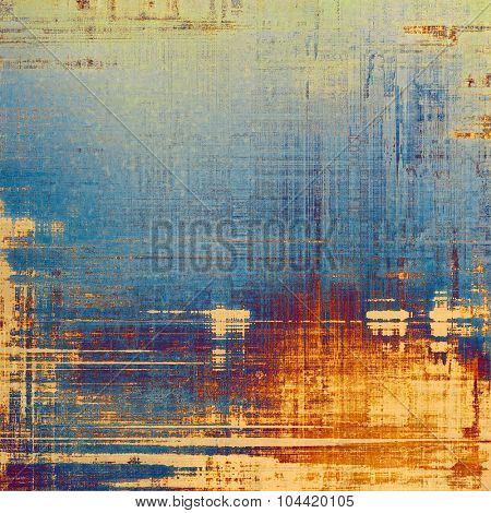 Old grunge antique texture. With different color patterns: yellow (beige); blue; purple (violet); cyan