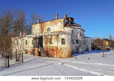 Church Of Elijah The Prophet At Slavna In Veliky Novgorod