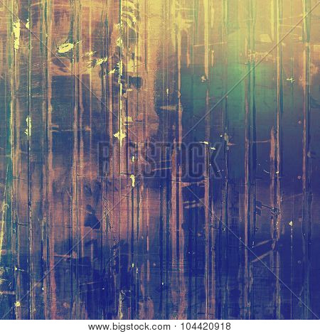 Abstract retro background or old-fashioned texture. With different color patterns: yellow (beige); brown; blue; green