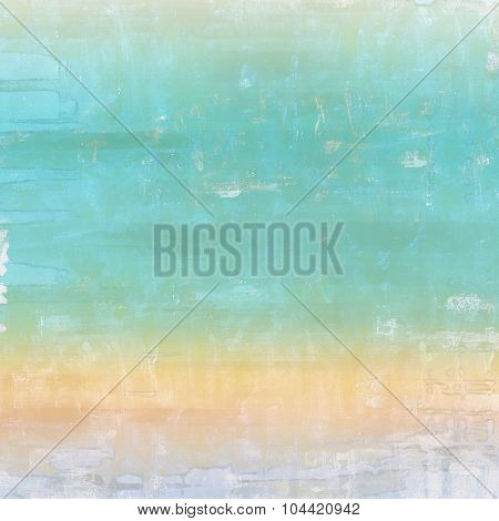 Grunge retro vintage texture, old background. With different color patterns: yellow (beige); brown; blue; cyan