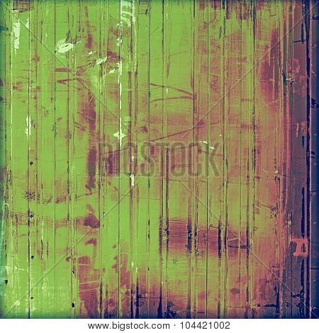 Abstract distressed grunge background. With different color patterns: blue; green; purple (violet); pink