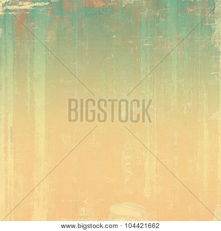 Grunge texture. With different color patterns: yellow (beige); brown; green; cyan