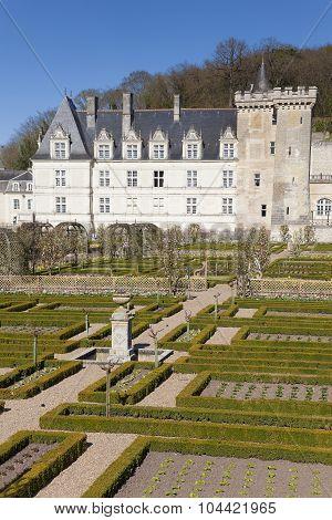 Castle Of Villandry, Indre-et-loire, France