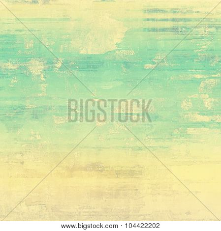Old, grunge background texture. With different color patterns: yellow (beige); brown; blue; green