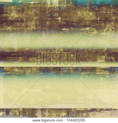 Grunge retro vintage textured background. With different color patterns: yellow (beige); brown; blue; green