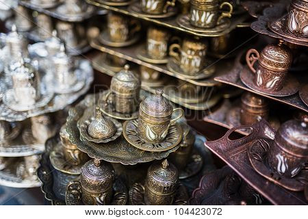 Shopping Tea Accessoires In Istanbul