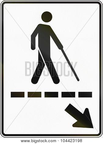Blind Path In Canada