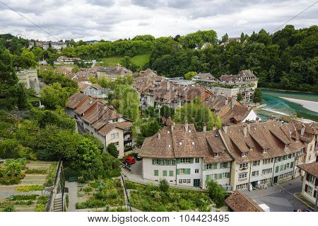 Cityscape Of The City Of Bern