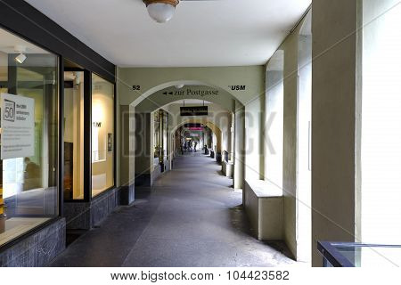 Famous Arcades Of Bern