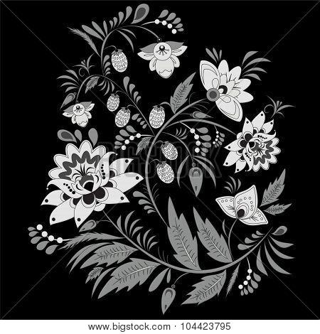 Russian Ornament. Traditional Slavs Pattern. Vector Illustration