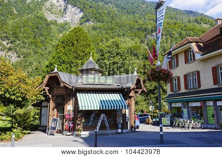 Stylized Commercial Pavilion In Interlaken