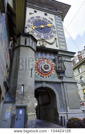 The Clock Tower In Bern