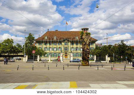 The Oppenheim Fountain In Bern
