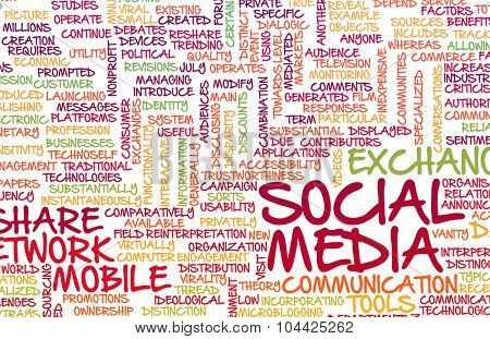 Social Media Experience and Services Available as Art