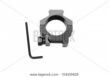Ring For Mounting A Riflescope