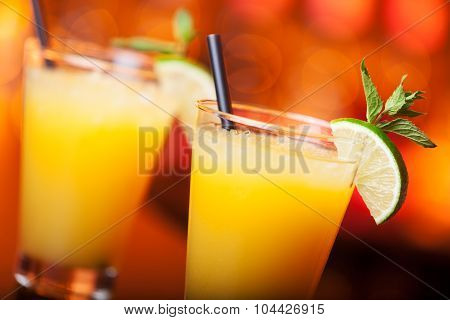 Cocktails Collection - Harvey Wallbanger