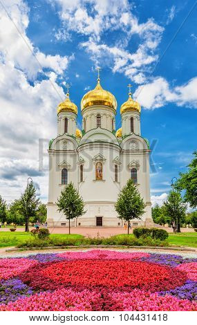 Ekaterina's Cathedral In Pushkin