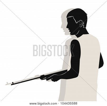 Guy With Gun