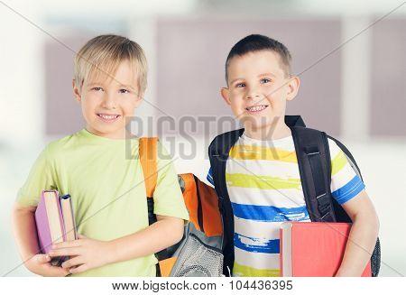 Schoolchildren.