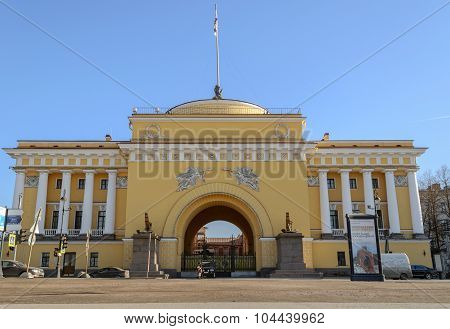 Admiralty In St. Petersburg