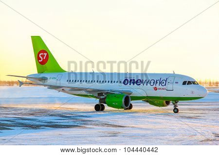 S7 Airlines Airbus A319