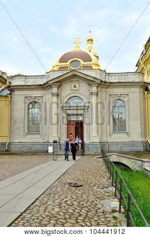 Grand Ducal Burial Vault Imperial House Of Romanov Dynasty In The Peter And Paul Cathedral